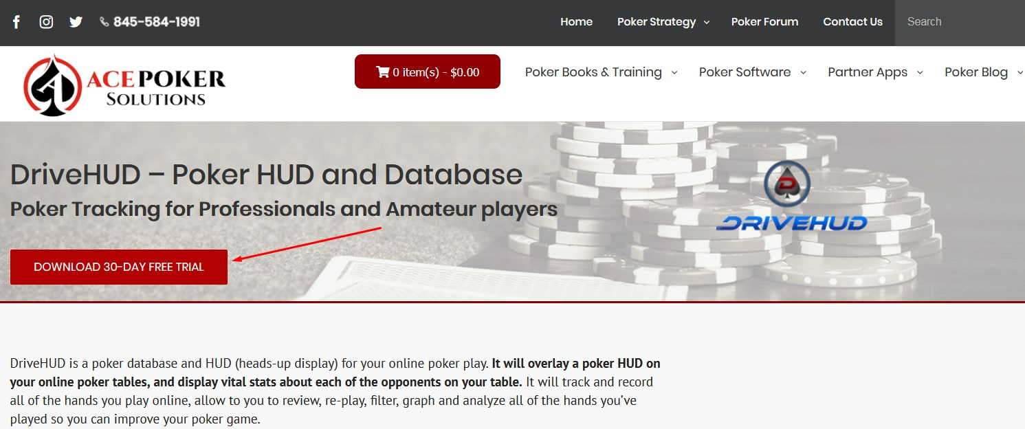 Convenient, simple and clear order of downloading and installing poker software.