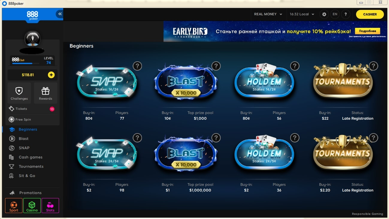 888Poker has released a new client for PC   News   Pokerenergy