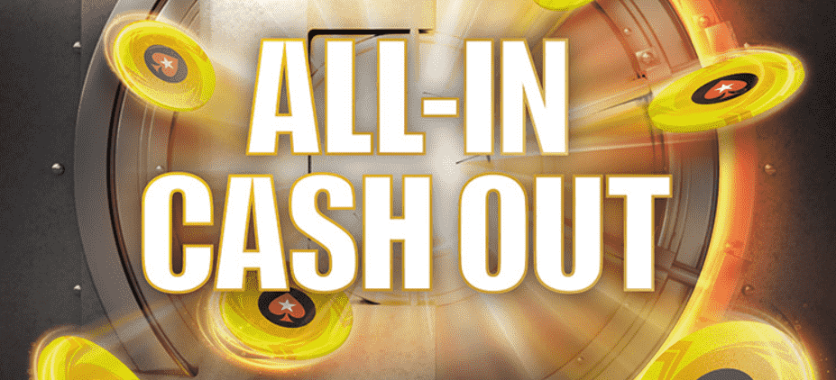 All-In Cash Out officially introduced at Pokerstars