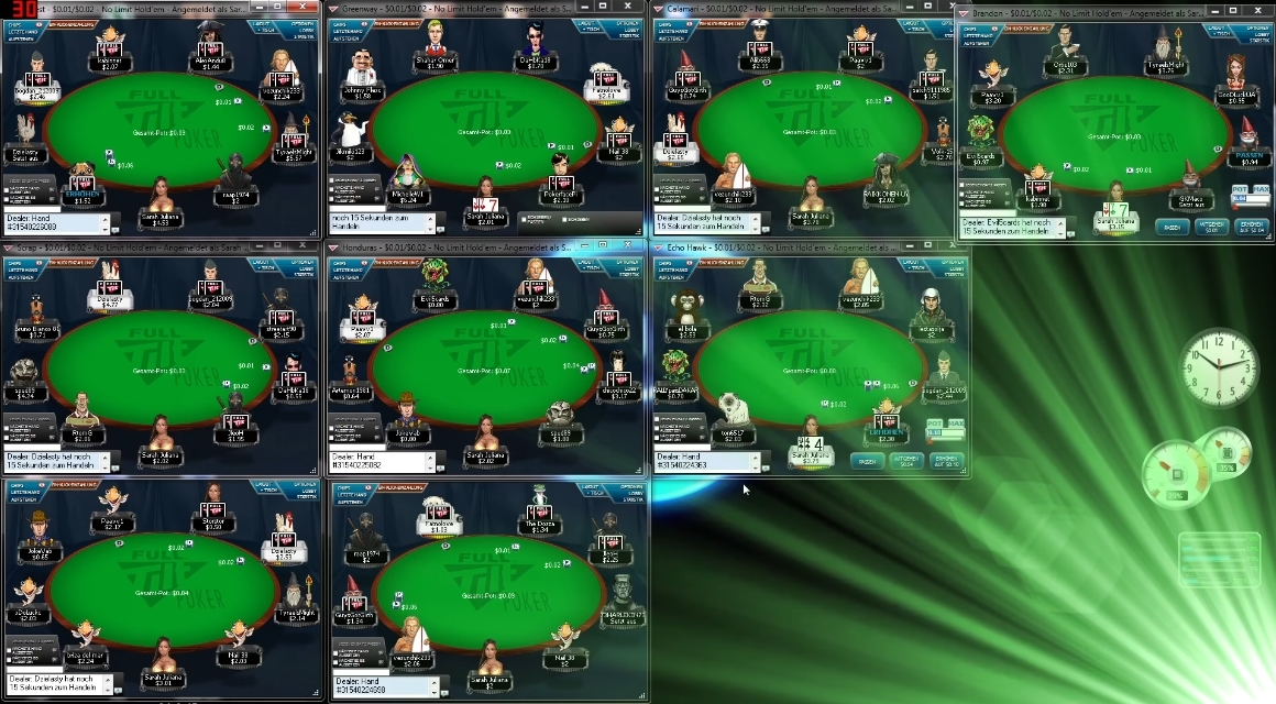Multitabling is a quick way to increase your poker profit!
