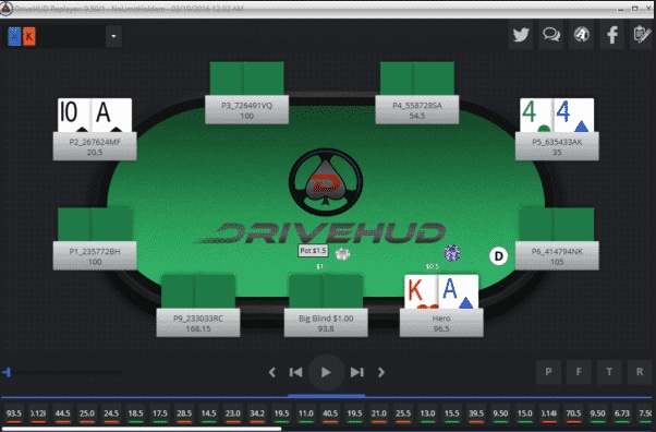 DriveHUD introduces support for the fast poker format on the Chico Poker Network