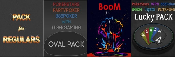 Make your multitabling better with convenient packs of layouts for popular poker rooms