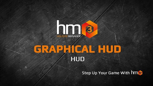 How to set up a graphical HUD in Holdem Manager 3?