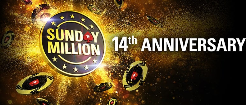 The anniversary Sunday Million starts March 22!