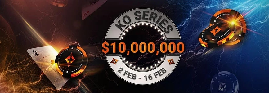 For tournament players: KO Series at Partypoker this week!