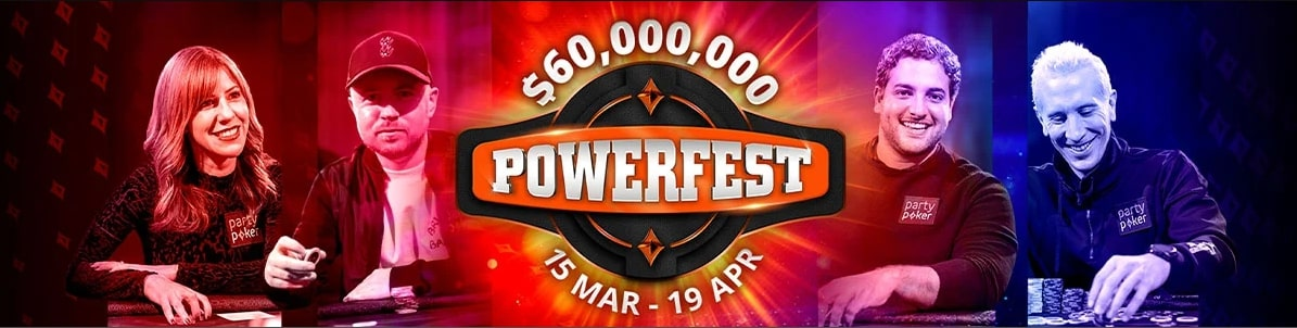 Partypoker: next renewal of Powerfest and bans for bots