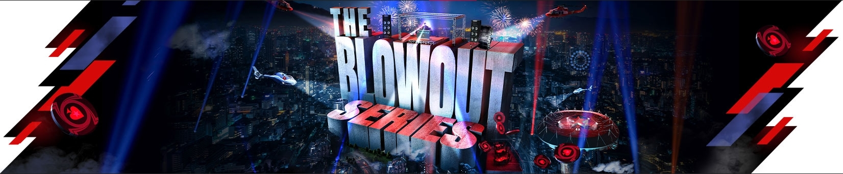 Blowout Series: 60M$ Guaranteed Late December on PokerStars