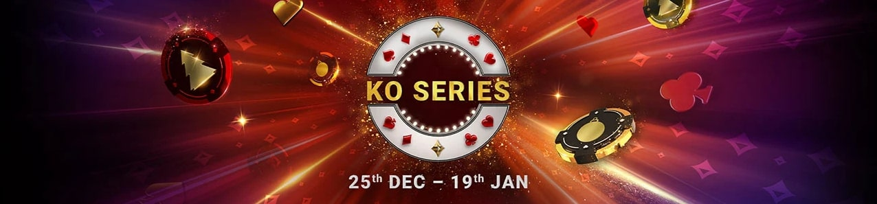 Let's celebrate the New Year with the KO Series at Partypoker!